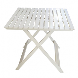 CA30016 Wood Folding Square Table / L-size