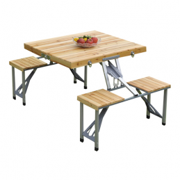 CA30019 Portable Wood Picnic Table